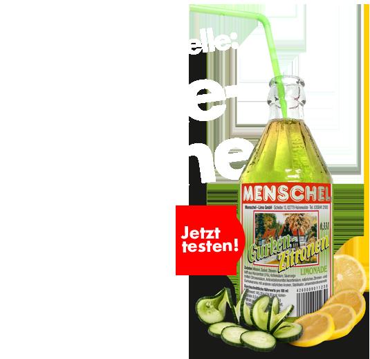 Gurken-Zitronen-Limonade